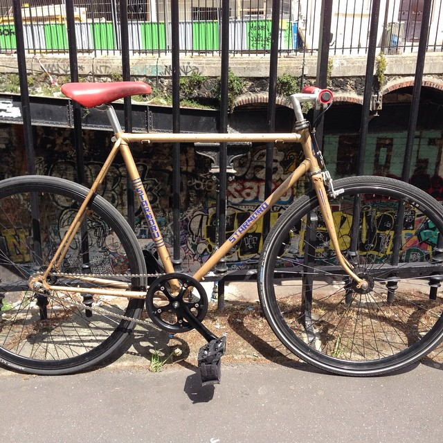 #hoodbike #fg #fixie #rat conversion terminée